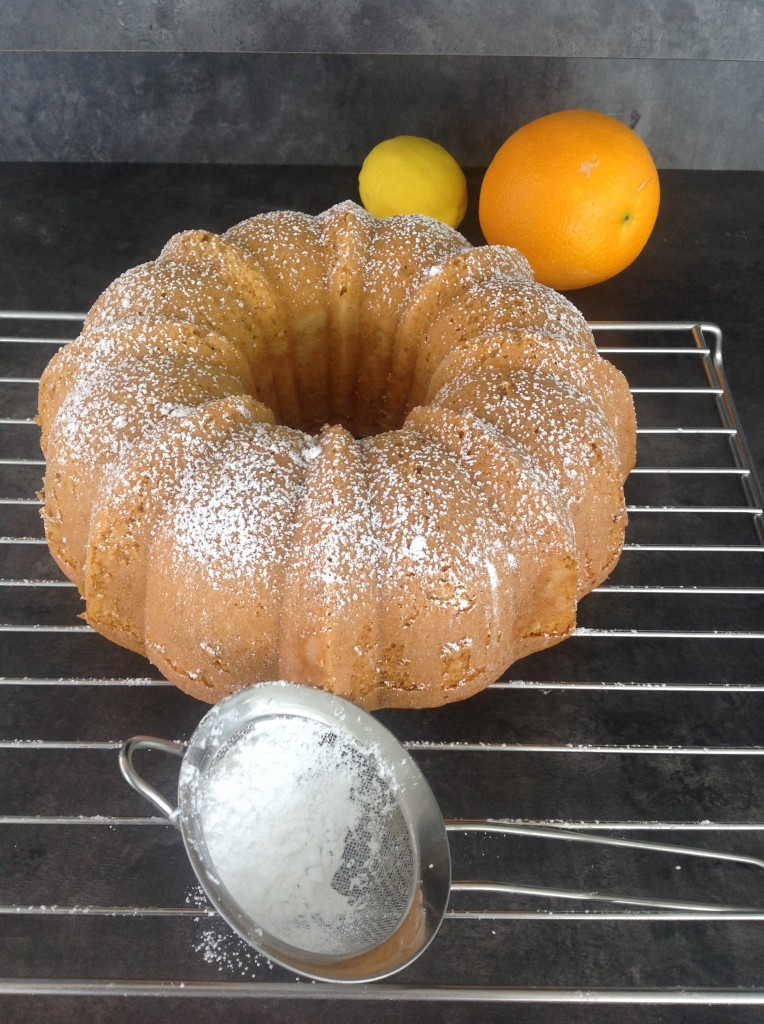 chiffon cake agrumi e miele