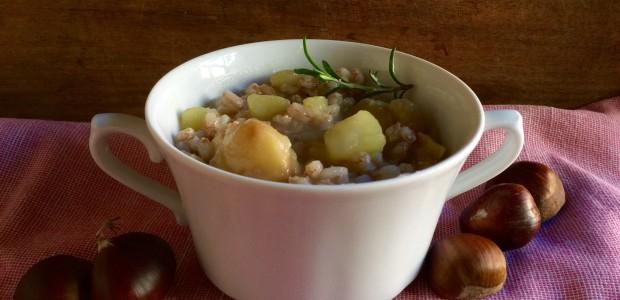 Zuppa di Farro e Castagne