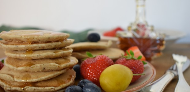 Pancakes light con i semi