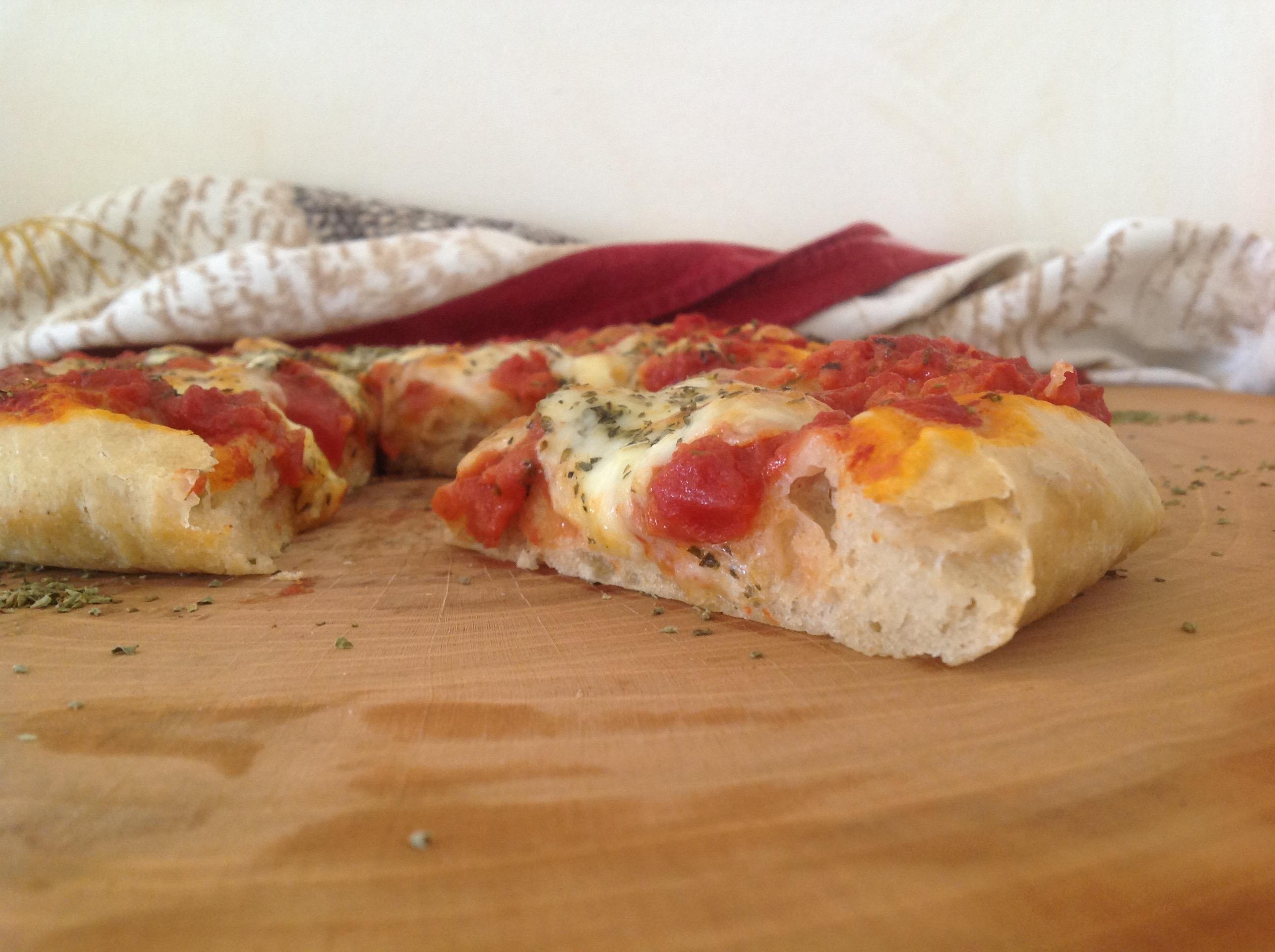 Ricetta Impasto Pizza A Lunga Lievitazione.Pizza Semintegrale A Lunga Lievitazione Le Ricette Per Gli Amici Del Pozzo Bianco
