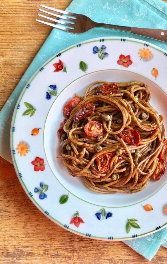Quinoa Risottata con Fave Piselli e pecorino